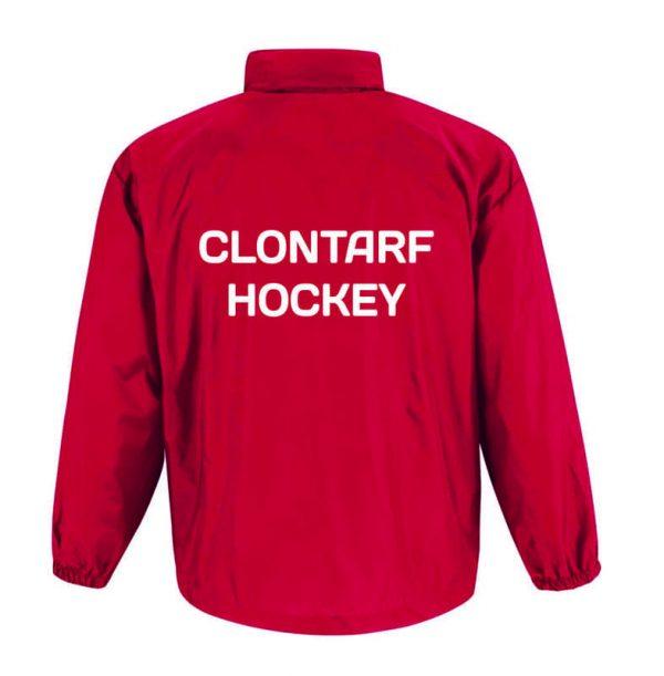 Clontarf Hockey Club Jacket Back