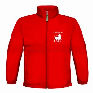 Clontarf Hockey Club Jacket Front