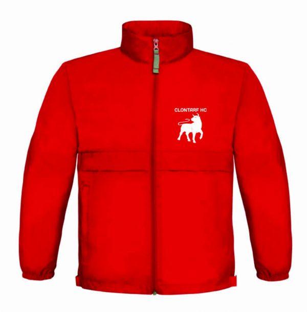 Clontarf Hockey Club Jacket Front