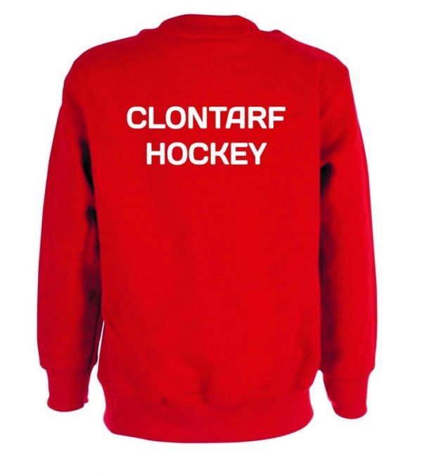 Clontarf Hockey Club Sweatshirt Back