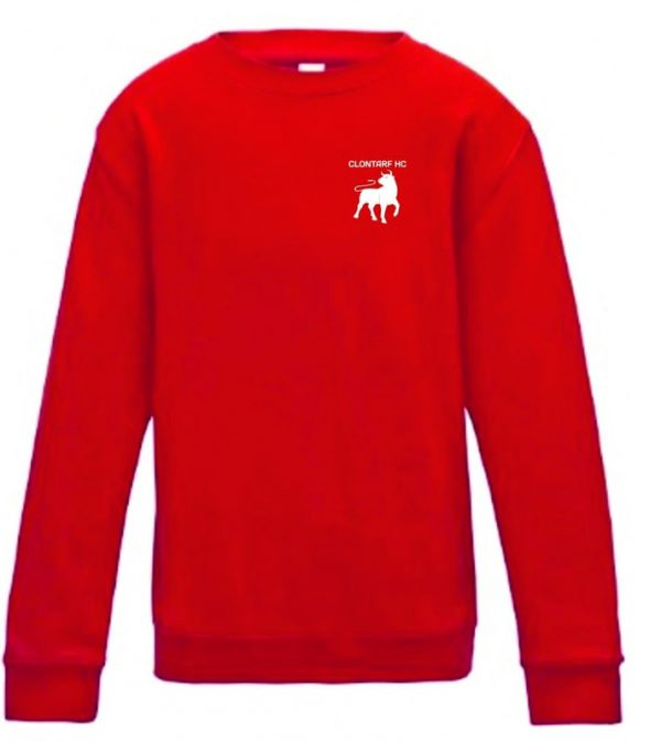 Clontarf Hockey Club Sweatshirt Front