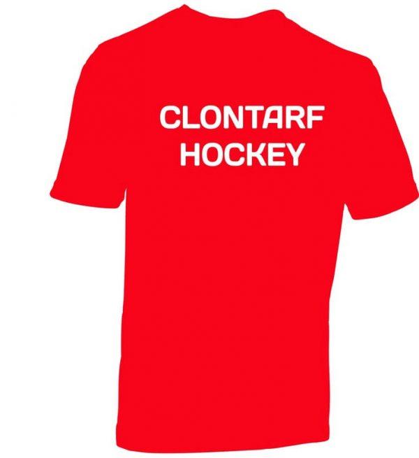 Clontarf Hockey Club T-Shirt Back